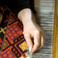 Addetto alla tessitura tradizionale