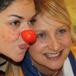 Istantanee da un nostro corso OSS: esercitazione di clownterapia