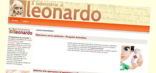 Il «Laboratorio di Leonardo» ospita una sezione dedicata a Progetto Artemisia